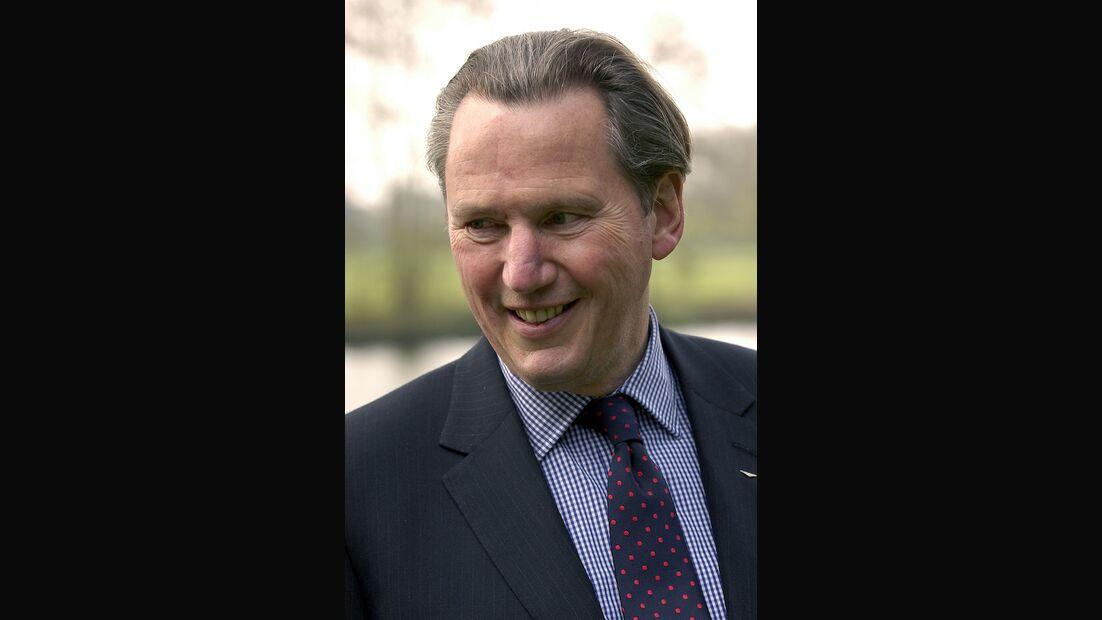Franz-Josef Paefgen, ehemaliger Audi-Vorstand, CEO von Bentley, Präsident von Bugatti