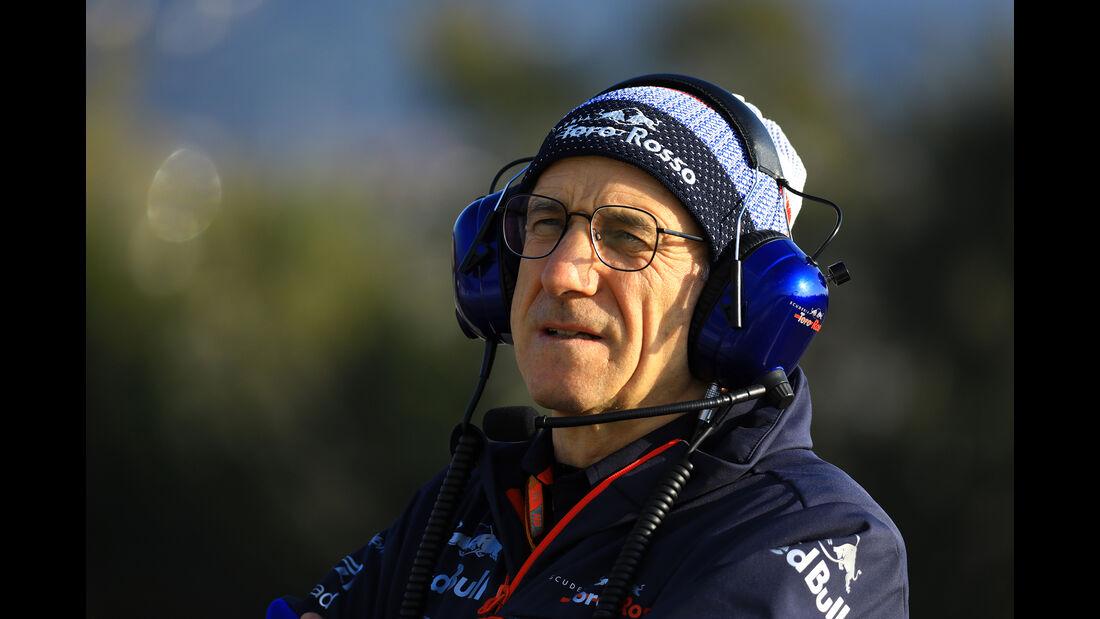 Franz Tost - Toro Rosso - Barcelona - F1-Test - 19. Februar 2019