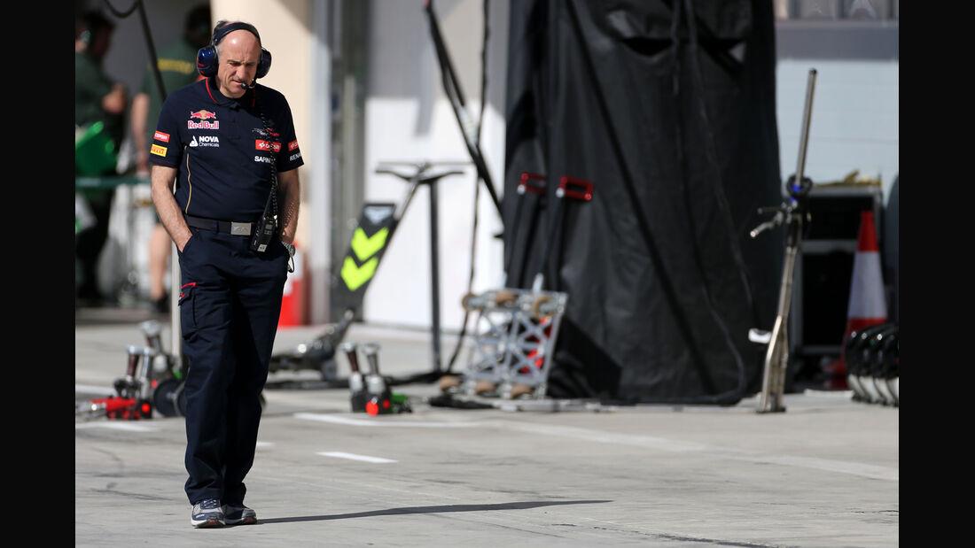 Franz Tost - Toro Rosso - Formel 1 - Test - Bahrain - 2. März 2014