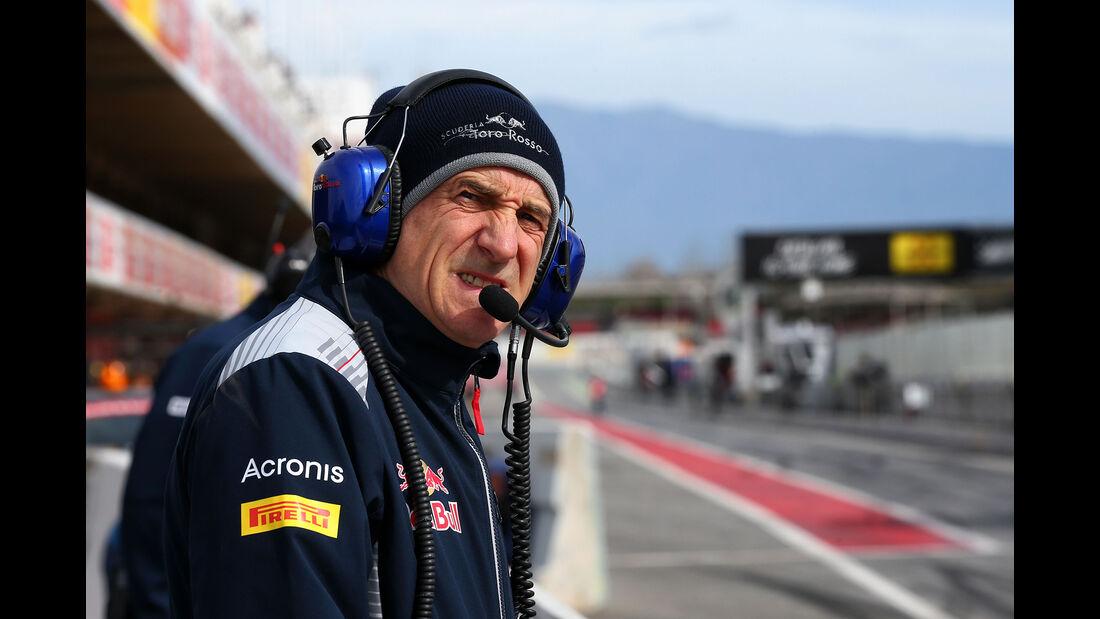 Franz Tost - Toro Rosso - Formel 1-Test - Barcelona - 28. Februar 2017
