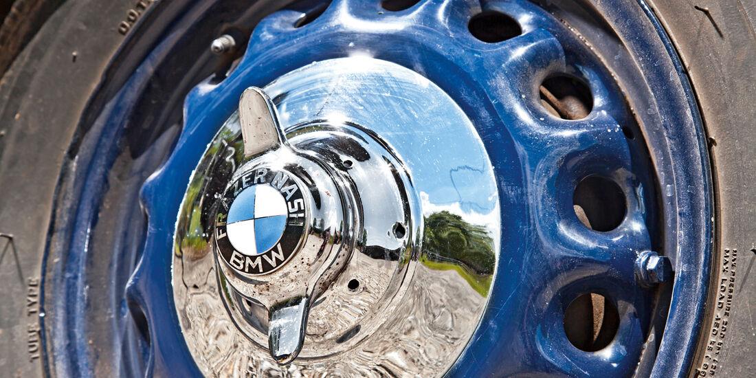 Frazer Nash BMW 327/28, Rad, Felge