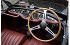 Frazer Nash Mille Maglia, Cockpit, Lenkrad