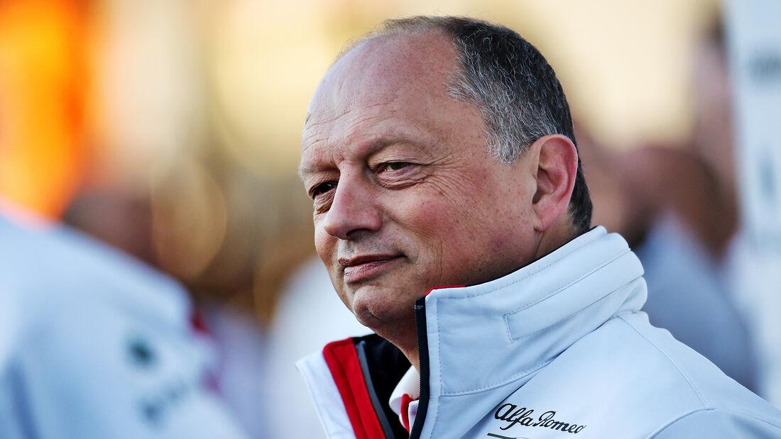 Frederic Vasseur - Alfa Romeo - Sauber - Formel 1