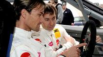 Frentzen und Hannawald - GT Masters 2011