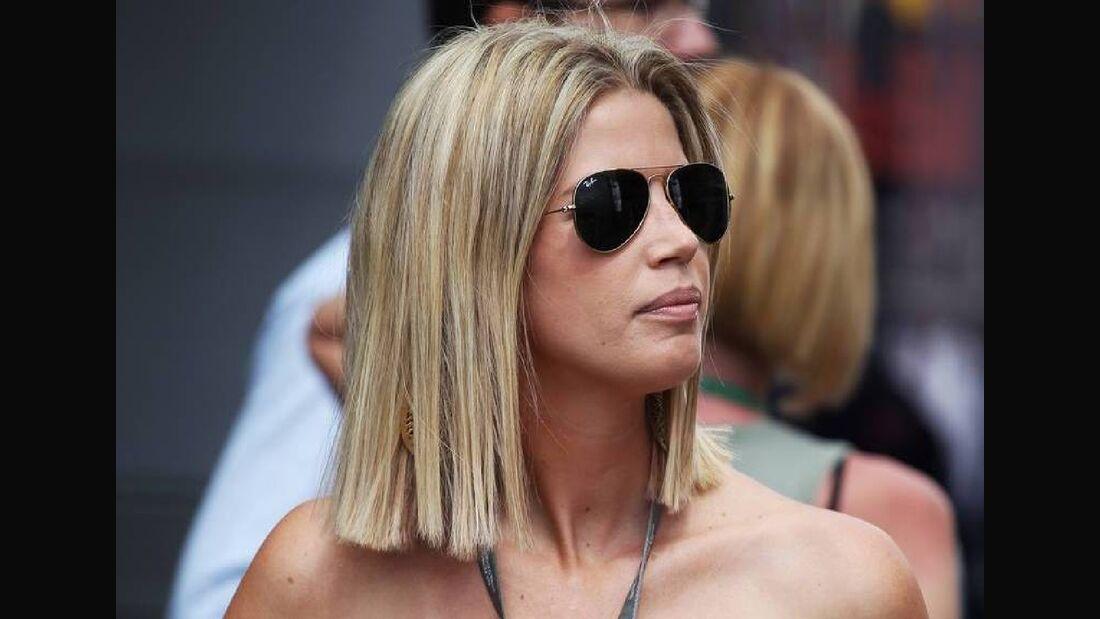 Freundin Timo Glock Isabelle - Formel 1 - GP Deutschland - 22. Juli 2012
