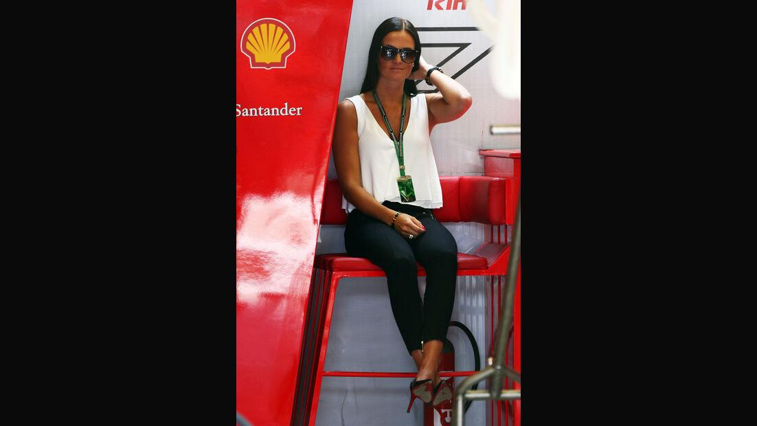 Freundin von Kimi Räikkönen - Formel 1 - GP Österreich - Spielberg - 21. Juni 2014