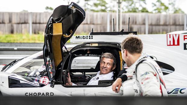 Fritz Enzinger Porsche Motorsport Leitung