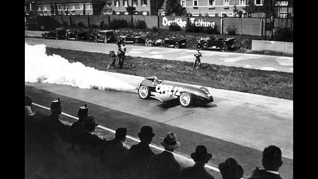 Fritz von Opel im RAK 2, 1928