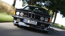 Frontansicht BMW Alpina B7 - Froschperspektive
