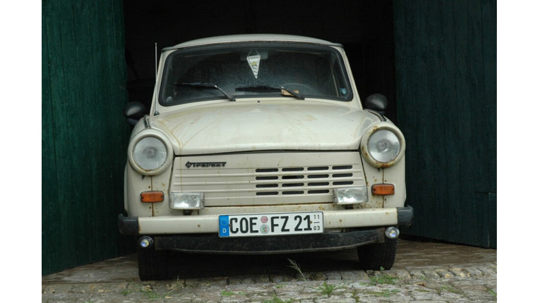 Frontansicht Trabant