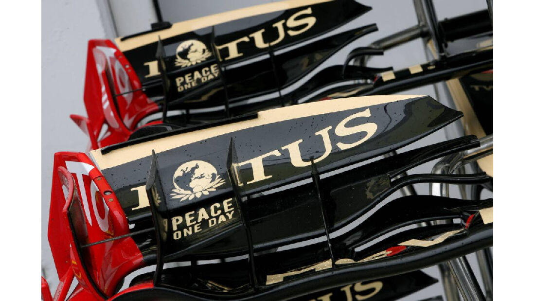 Frontflügel - GP Ungarn - Formel 1 - 28.7.2011