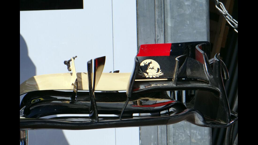Frontflügel Lotus - Formel 1 - GP Monaco - 22. Mai 2013