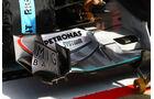 Frontflügel Mercedes GP