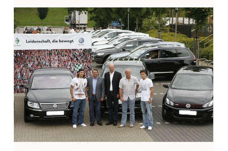 Fu�baller, Werder Bremen, VW, Frings, Allofs, Schaaf, �zil