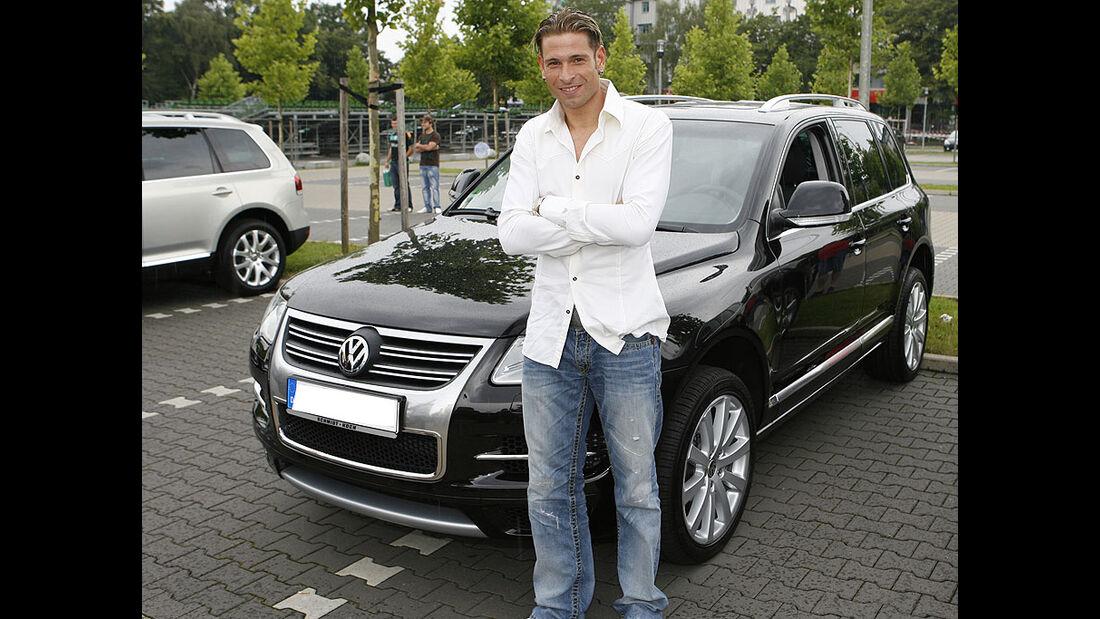 Fu�baller, Werder Bremen, VW, Wiese