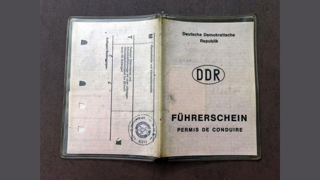 Führerschein DDR