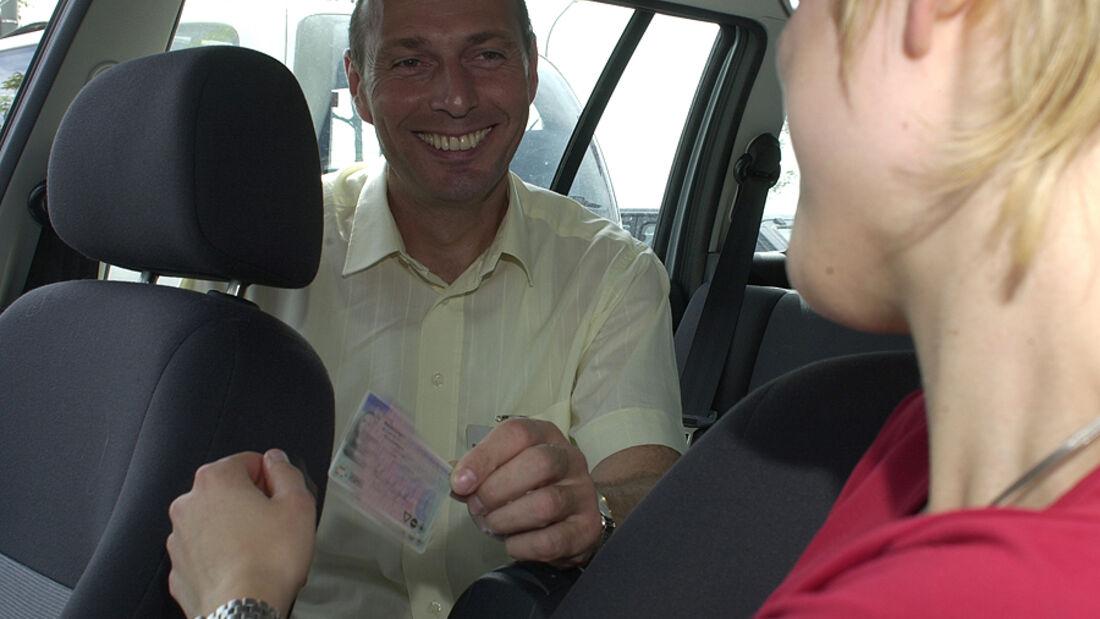Führerschein-Prüfung