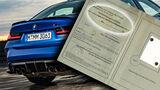 Führerschein Verbrenner BMW M3 Collage