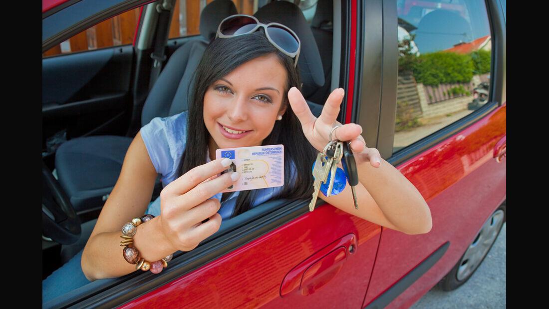 Führerschein bestanden