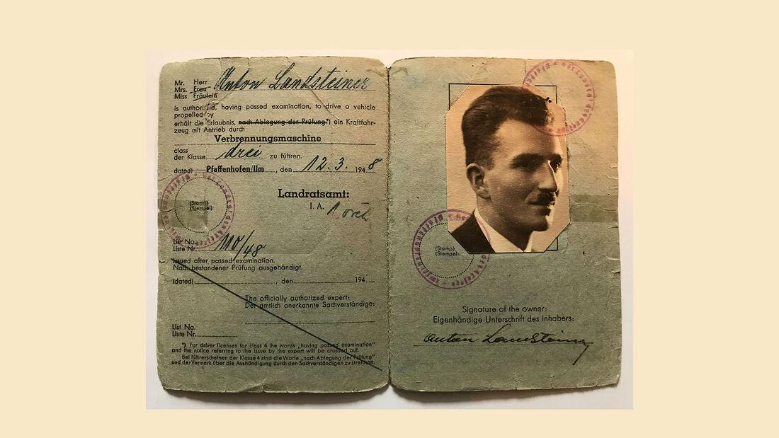 Führerschein von 1948 (US-Zone)