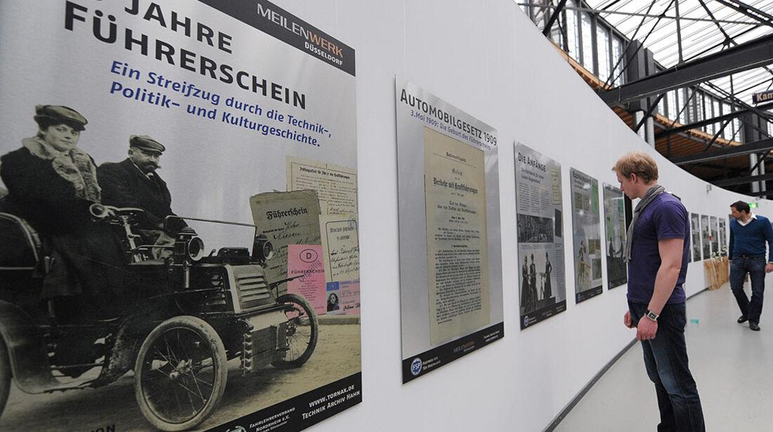 Führerscheinausstellung Meilenwerk Düsseldorf