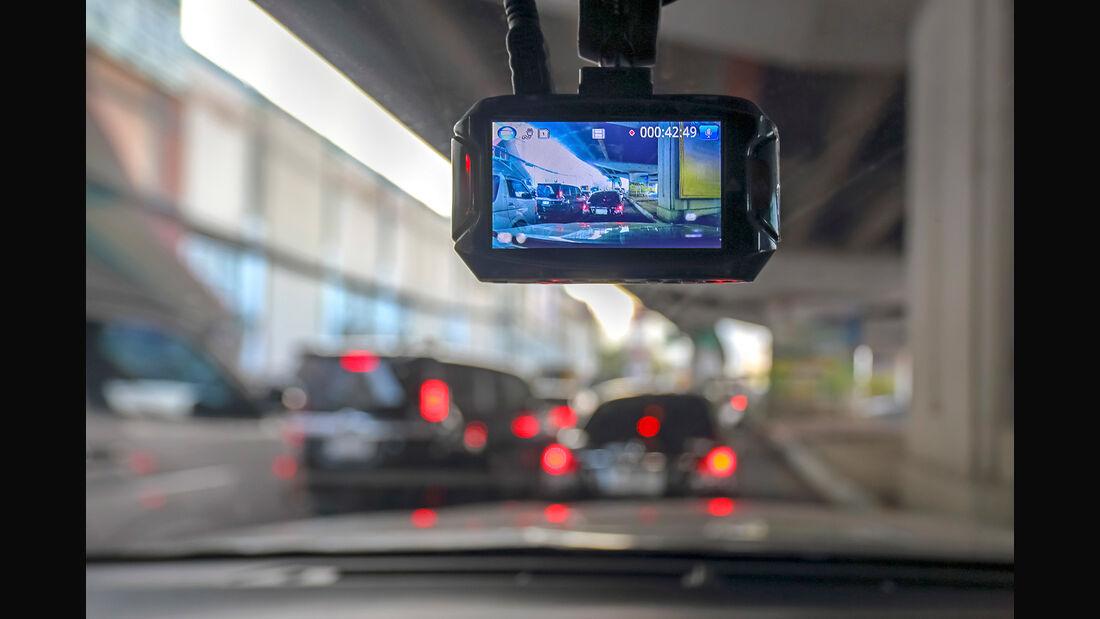 Fünf Dashcams im Test, asv1019
