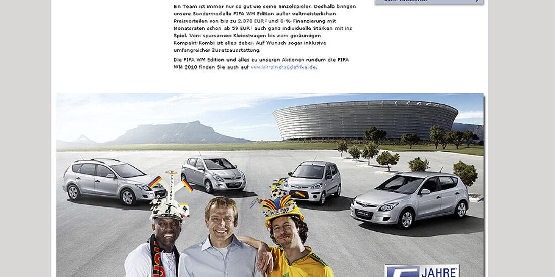 Fußball-Weltmeisterschaft 2010, Fußball WM, Hyundai