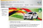Fußball-Weltmeisterschaft 2010, Fußball WM, Opel Corsa