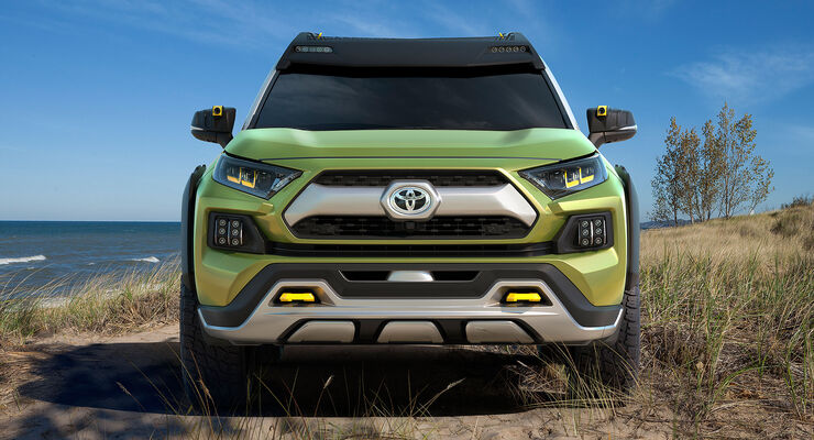 Future Toyota Adventure Concept (FT-AC)