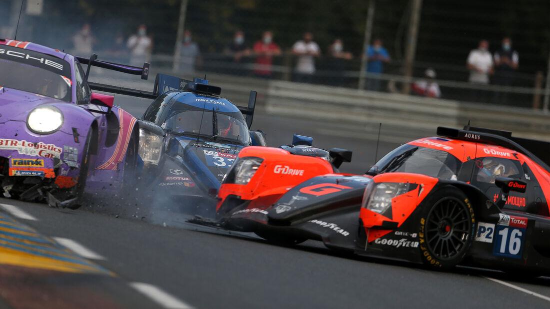 G-Drive Aurus 01-Gibson - Startnummer #16 - Klasse: LMP2 - 24h-Rennen - Le Mans 2020