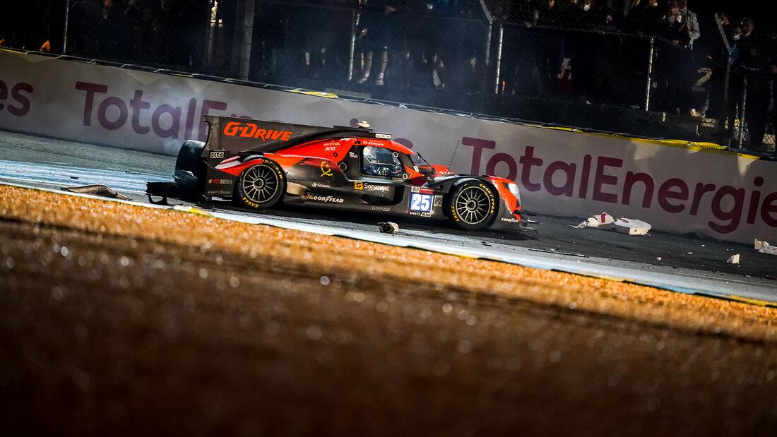 G-Drive Racing - Aurus 01 Gibson - Startnummer #25 - LMP2 - 24h-Rennen Le Mans 2021