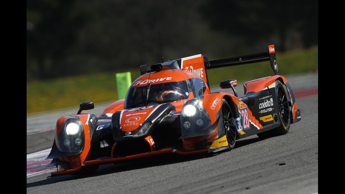 G-Drive Racing Ligier JS P2 Nissan - WEC-Test - Prolog - Paul Ricard - 2015