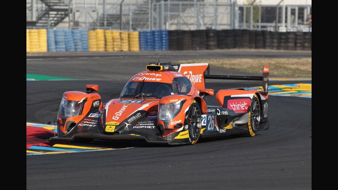 G-Drive Racing - Startnummer #26 - 24h-Rennen Le Mans 2017 - Qualifying