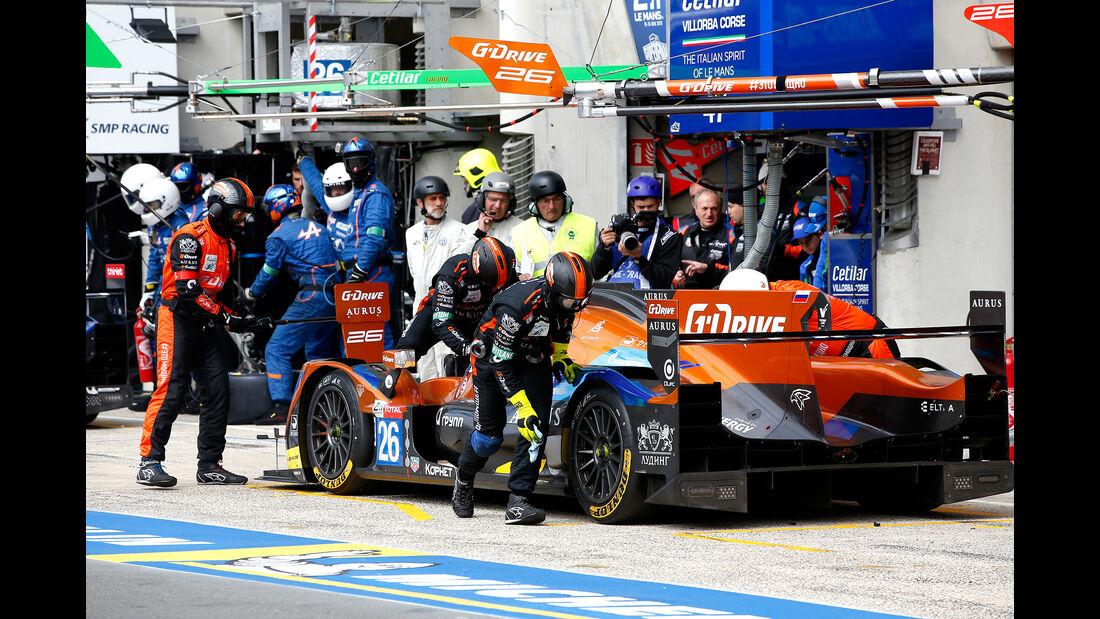 G-Drive - Startnummer #26 - 24h-Rennen Le Mans - Samstag - 15.06.2019