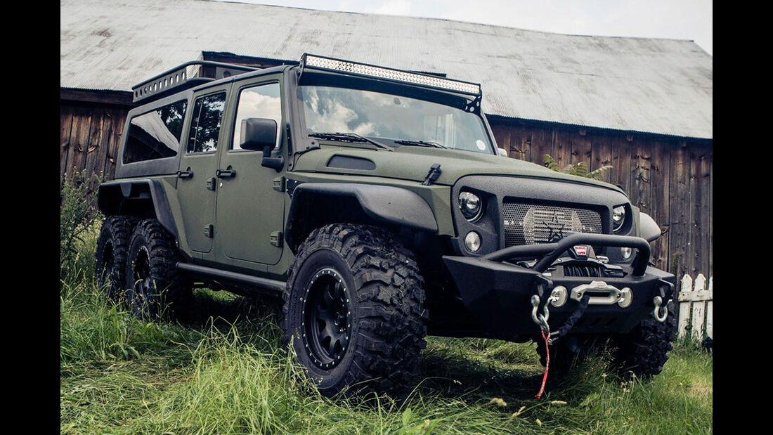 G. Patton Jeep Wrangler 6x6 (2016)