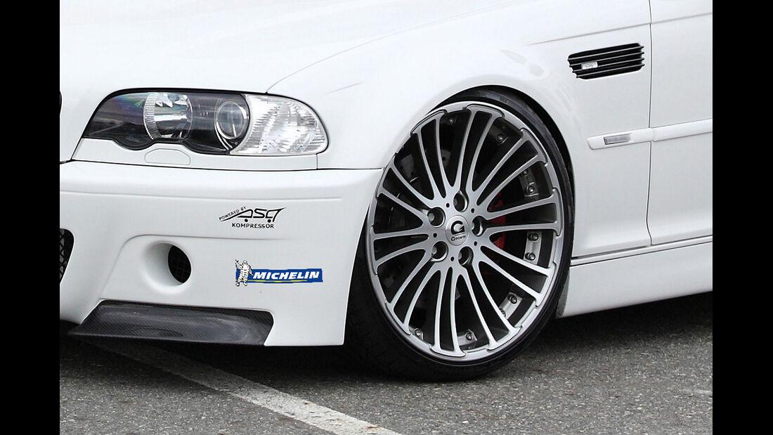G-Power BMW M3 E46, Front, Felge