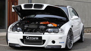 G-Power BMW M3 E46, Motorhaube, Motor