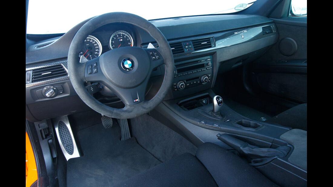 G-Power-BMW M3 GTS Cockpit