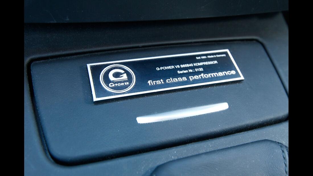 G-Power-BMW M3 GTS Plakette