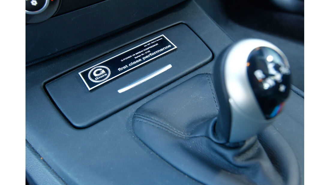 G-Power-BMW M3 GTS Schaltknauf