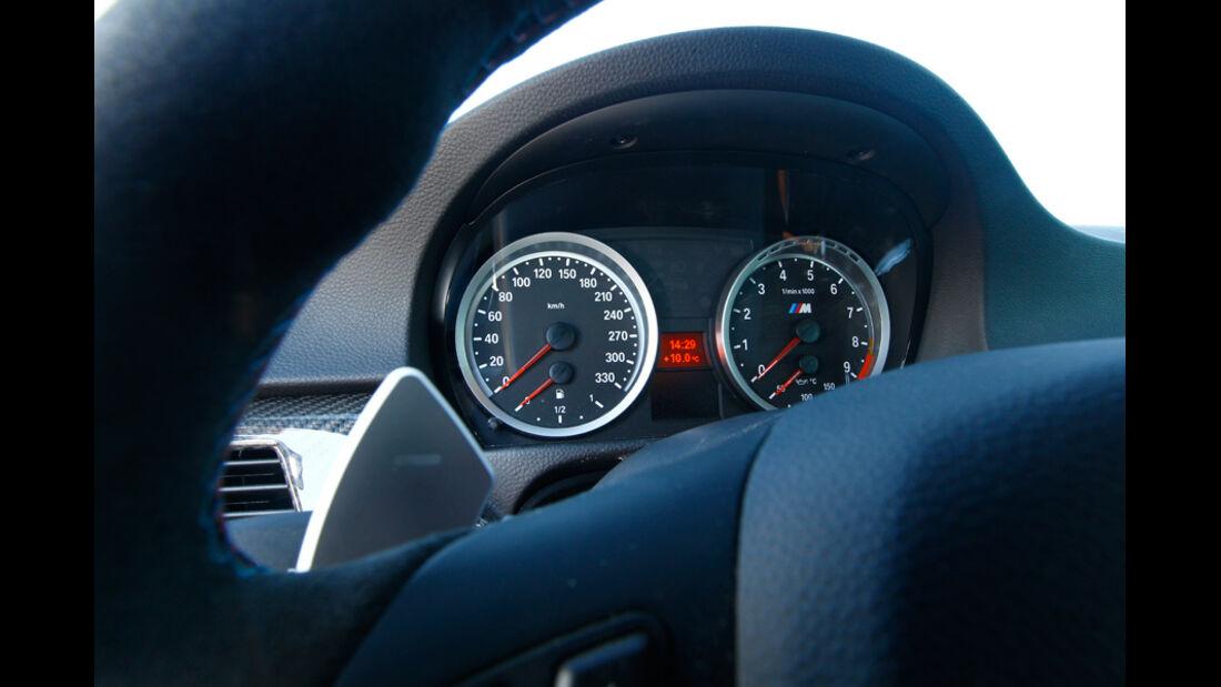 G-Power-BMW M3 GTS Tacho