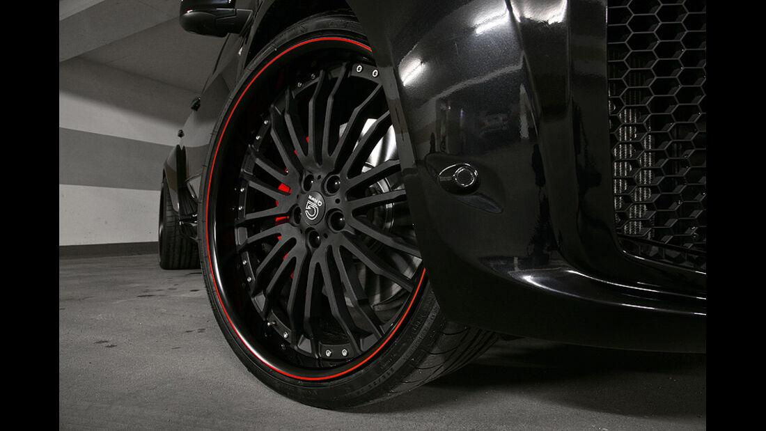 G-Power BMW X5 M Typhoon, Räder