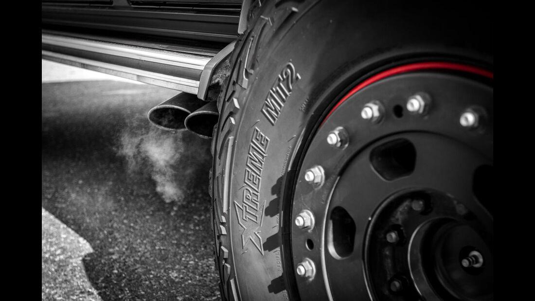 G63 AMG by mcchip-dkr, Abgasanlage