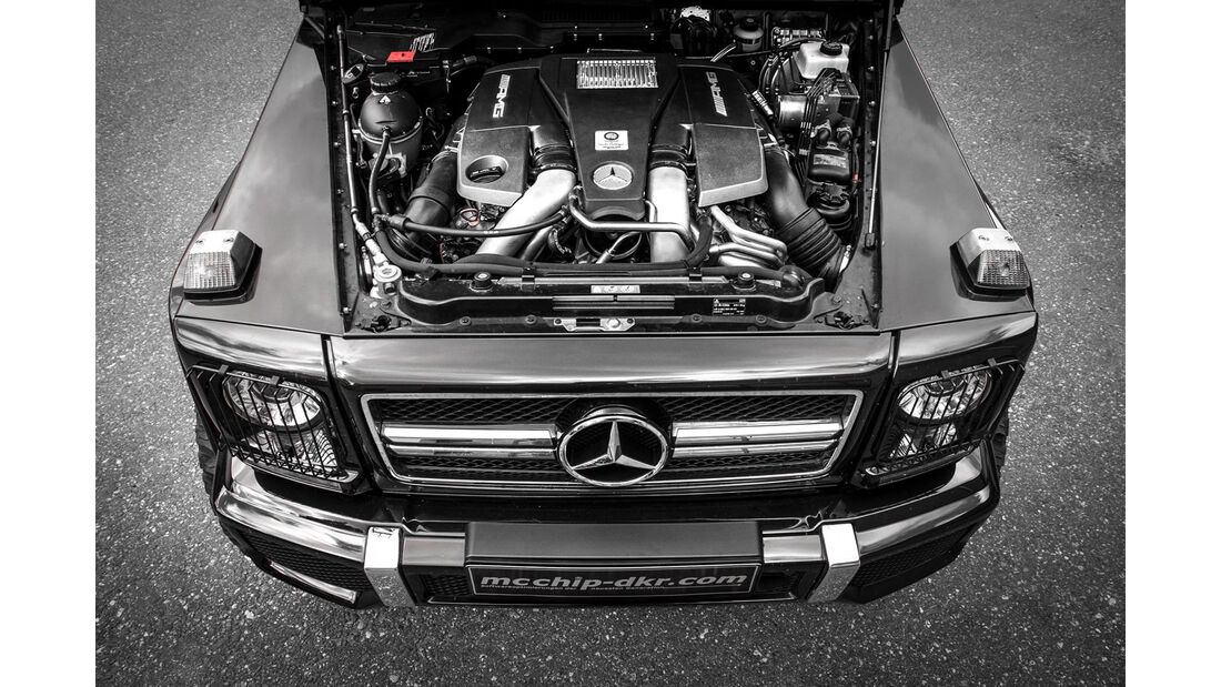 G63 AMG by mcchip-dkr, Motor