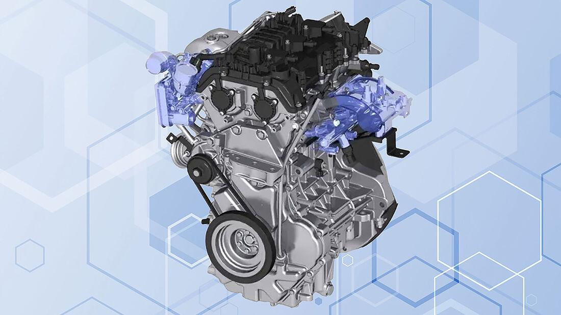 GAC Wasserstoffmotor