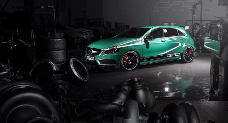 GAD Motors, Tuning, Mercedes A45 AMG