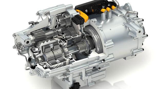 GKN eTwinsterX E-Antriebsachse