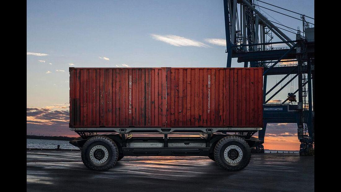 GM Brennstoffzellenplattform Silent Utility Rover Universal Superstructure (SURUS)