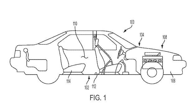 GM Fußmassage-System Patent