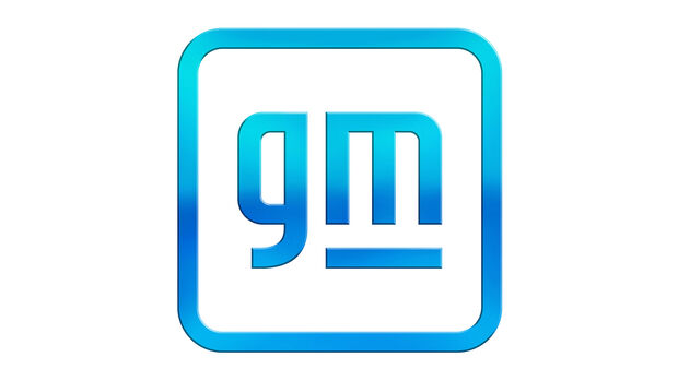 GM General Motors Logo Neu 2021